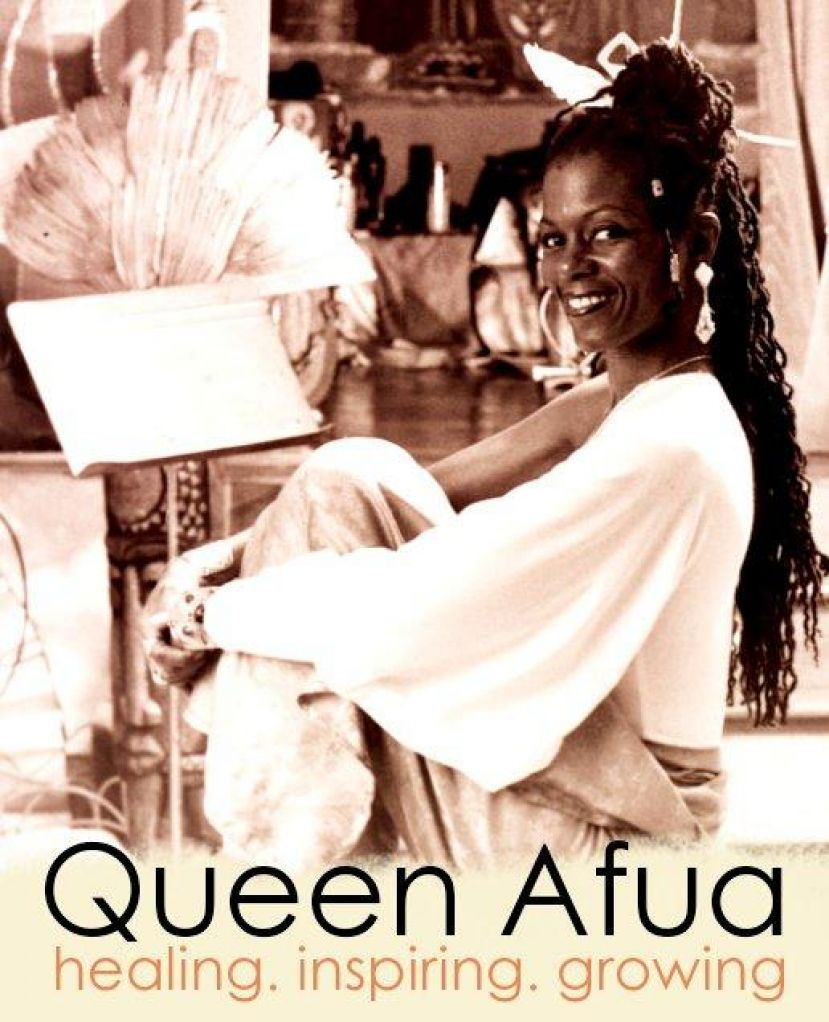 Queen Afua, a legendary holistic and wellness healer