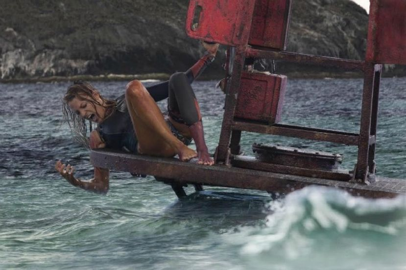 Actress Blake Lively in The Shallows
