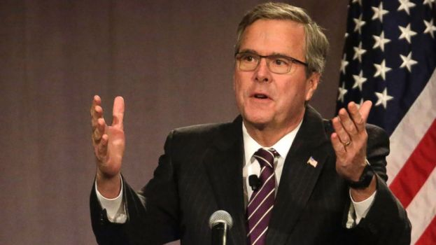 Former Florida Governor Jeb Bush Dumps on Poor People and Ducks Donald Trumps Tirade Against Mexicans