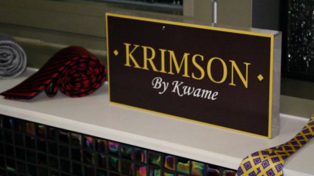 Krimson by Kwame, a line od executive neckwear by Kwame Jackson, entrepreneur and The Apprentice season 1 runner up