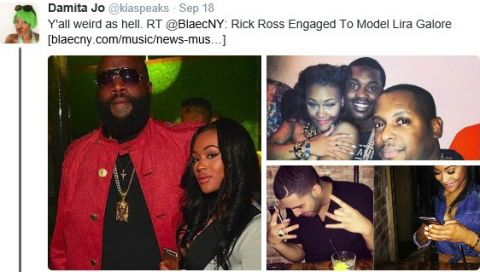 Rick Ross and Lira Mercer end engagement amid naked photos surfacing on social media