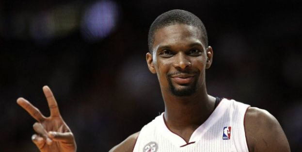 Miami Heat power forward Chris Bosh