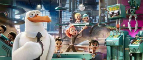 Filmart for the movie, Storks