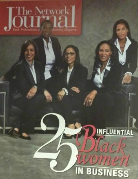 Program cover of The Network Journal's 25 Most Influential Black Women in Business Awards Luncheon