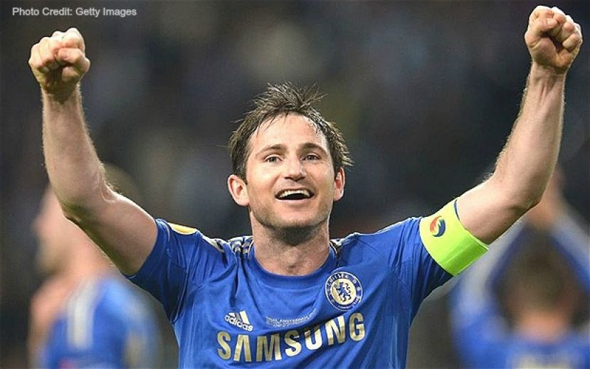 Professional Soccer player Frank Lampard