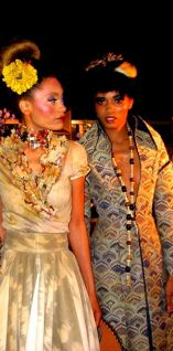 Fashion designs from Michael Jerome Francis' signature line, Save The Bees