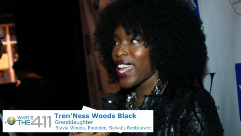Tren 'Ness Woods Black talking with What's The 411TV host, Glenn Gilliam