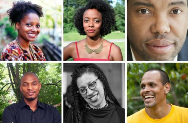 Photo: Clockwise from top left: Tracy K. Smith; Angela Flournoy; Ta-Nehisi Coates; Ross Gay; Robin Coste Lewis; and Terrance Hayes