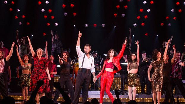 The cast of  On Your Feet! The Story of Emilio & Gloria Estefan