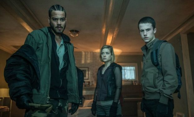 Photo (from left to right): Don't Breathe stars Daniel Zovatto, Jane Levy, and Dylan Minnette