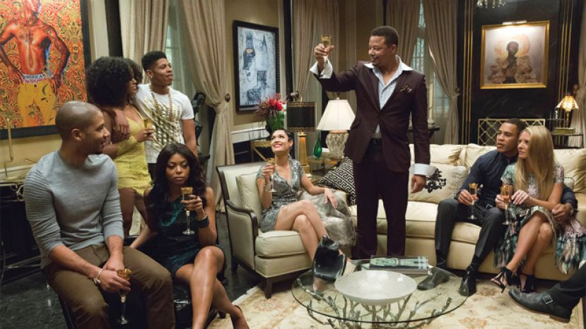 Cast of the hit Fox Television show, EMPIRE