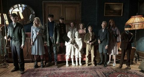 Some of the cast members of Miss Peregrine's Home for Peculiar Children