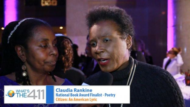 Claudia Rankine, National Book Awards Finalist for Poetry, is talking with What's the 411TV Book Editor, Luvon Roberson about her nominated book, CITIZEN: AN AMERICAN LYRIC