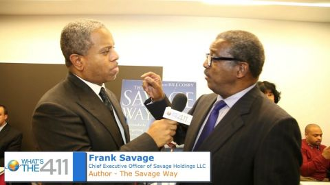 Author, Entrepreneur, and Business Advisor, Frank Savage speaking with Glenn Gilliam
