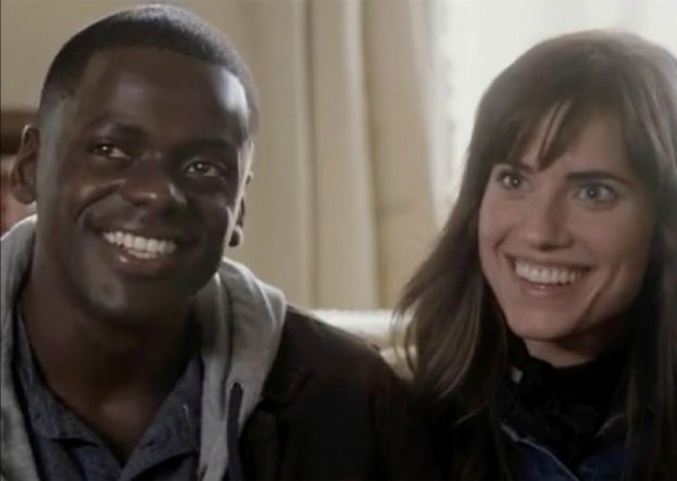 Daniel Kaluuya (left) and Allison Williams stars of the movie, Get Out.