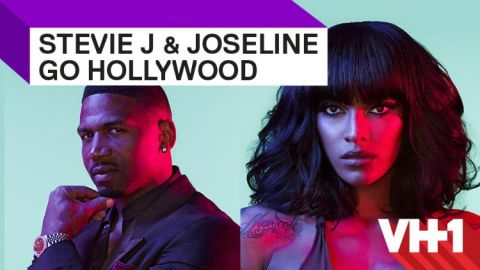 Stevie J and Joseline Go Hollywood publicity photo