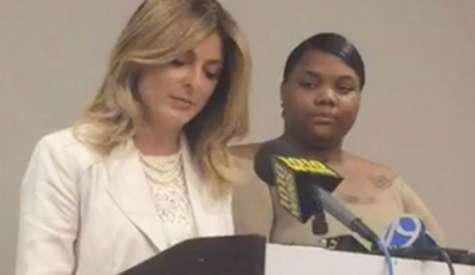 Woman Speaks Out at Press Conference in Usher Herpes Saga