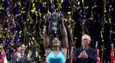 Serena Williams Beats Simona Halep to Win Fifth WTA Finals