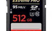 Nobody Beats SanDisk: Company Unveils World's First 512GB SD Card