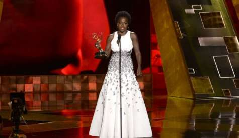 Viola Davis Wins Emmy for Outstanding Lead Actress in a Drama Series
