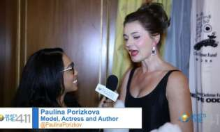 Model, Actress, and Author, Paulina Porizkova, Co-Chairs Children's Defense Fund Annual Gala