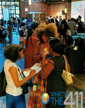 Black women at an entrepreneur/business networking event