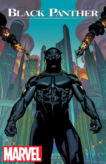 Black-Panther-Cover-No-1 Expected-to-be-Published-in-2016 Art-by-Brian-Stelfreeze