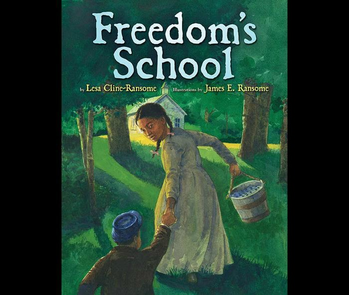 James Ransome Illustrator Freedoms School 700x591