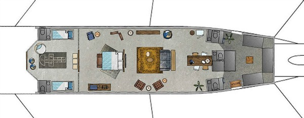 KLM converted-plane-floor-plan 600x233