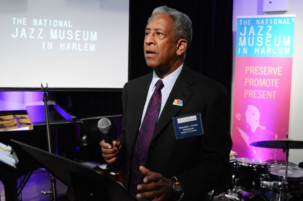 National Jazz Museum in Harlem Tim Porter-Esq Board Chair 03292016 600x399