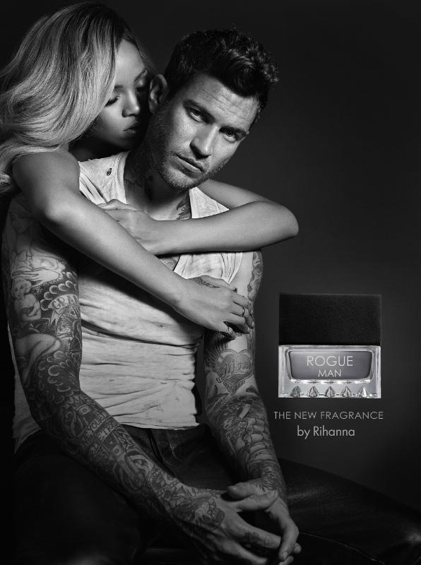 Rihanna ROGUE-MAN Photo Ad-Campaign Image Parlux-Fragrances