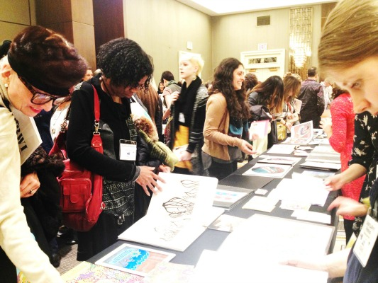 SCBWI ATTENDEES AT 2016 WINTER CONFERENCE 533X400