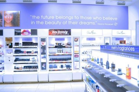 Vera Moore Cosmetics inside Duane Reade Look Boutique