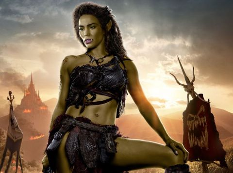 Actress Paula Patton in Warcraft