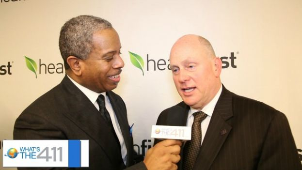What's The 411TV host, Glenn Gilliam, interviewing Mark Jaffe, President and CEO, Greater New York Chamber of Commerce