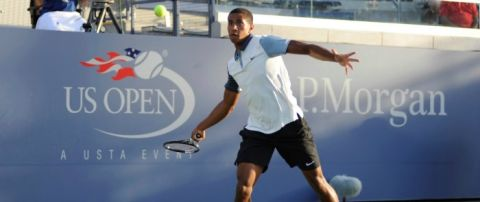 Michael Mmoh at 2014 US Open