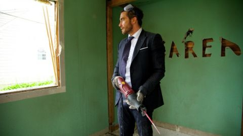 Actor Jake Gyllenhaal in Demolition.