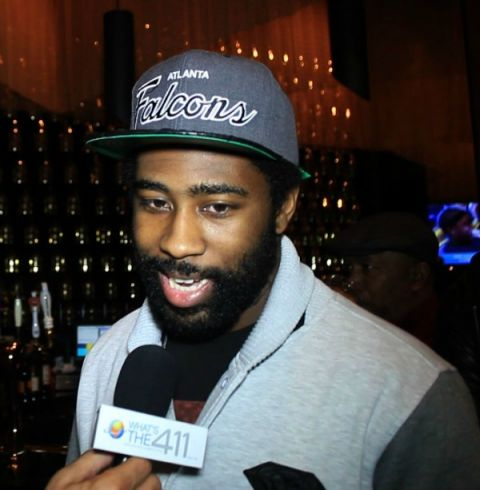 Darrelle Revis interviewed by What's The 411 reporter, Andrew Rosario