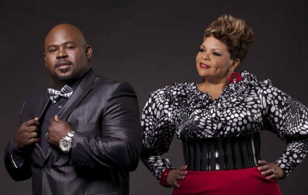 Husband and wife, David and Tamela Mann of Hanging Withthe Manns