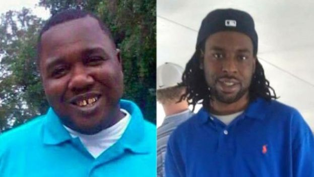 Left to Right: Alton Sterling of Baton Rouge and Philandro Castile of Minnesota both men shot by unprovoked police officers in their respective locales
