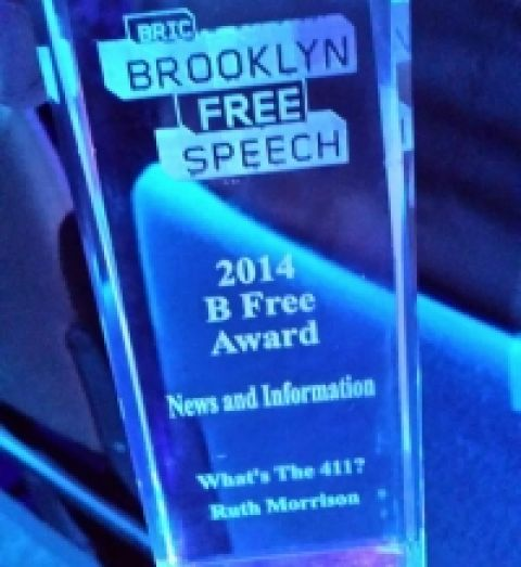 What's The 411 Wins a B FREE Awards for News and Information
