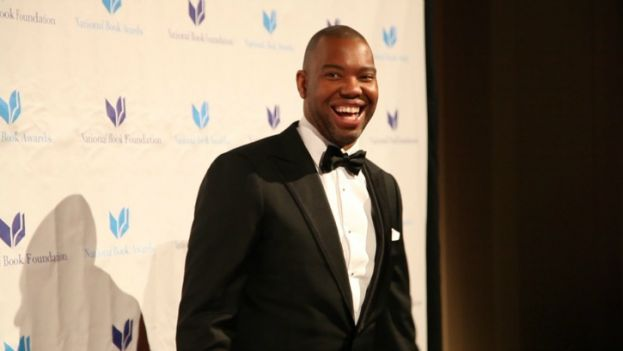 Award-winning author, Ta-Nehisi Coates, on the red carpet at the 2015 National Book Awards.