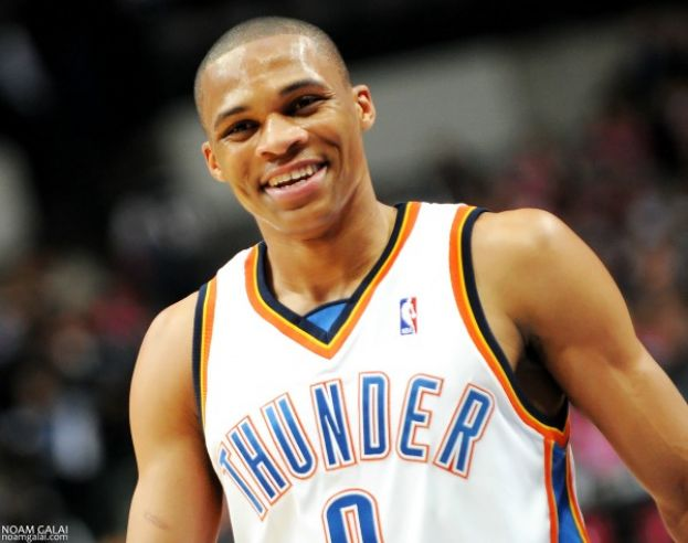 Oklahoma City Thunder point guard Russell Westbrook