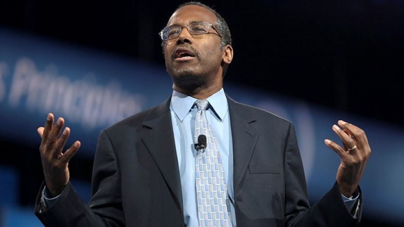 Dr. Ben Carson, republican presidential candidate