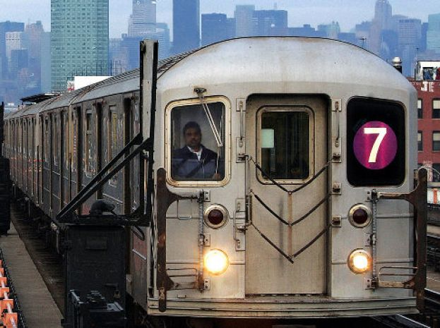 No. 7 Train in New York City