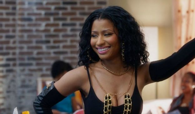 Rapper/Actress Nicki Minaj in Barbershop: The Next Cut