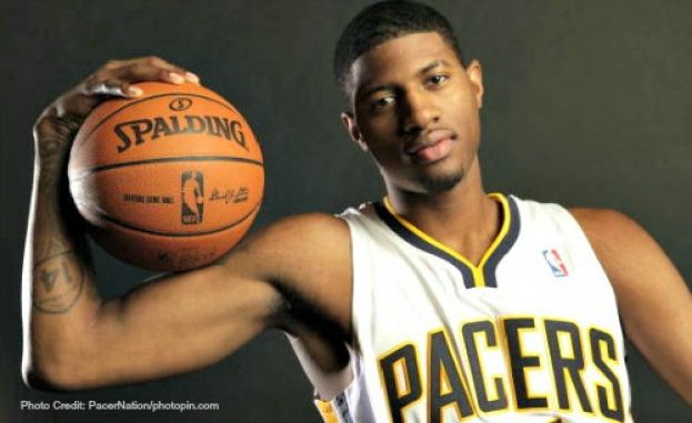 Indiana Pacers small forward/shooting guard, Paul George