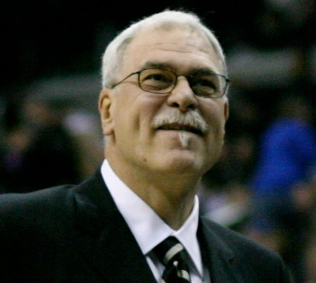 Phil Jackson, former coach of Los Angeles Lakers and Chicago Bulls