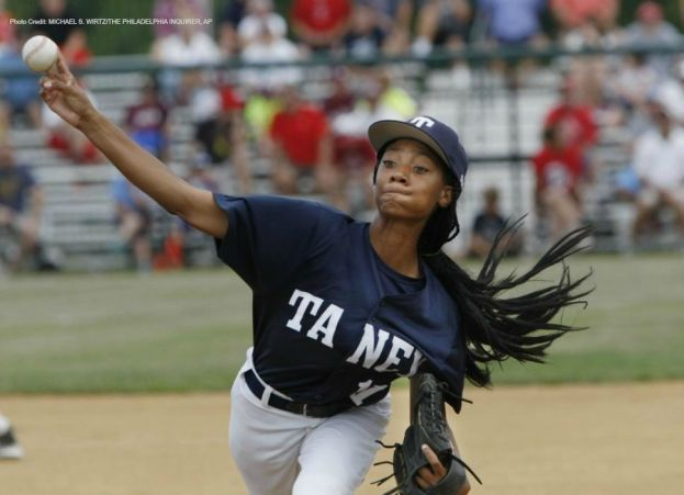 Little League Pitcher Mo'ne Davis