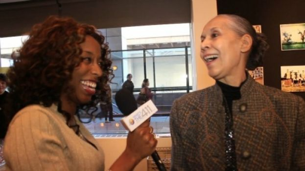 What's The 411TV reporter, Kizzy Cox (left), and the legendary dancer Carmen de Lavallade